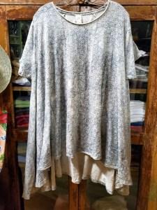 Magnolia Pearl Cotton JerseyHand Block Print Jett T Madalena 702