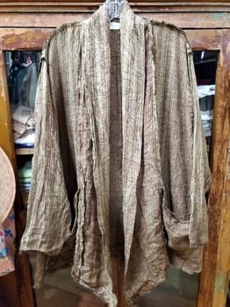 Krista Larson Billowy Coat Umber/Berry 1905