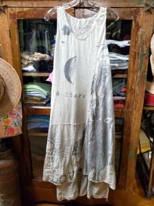 Magnolia Pearl Cotton Jersey Art Graphic Layla Tank Dress 619