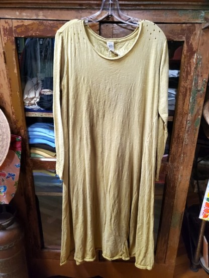 Magnolia Pearl Marigold Cotton Jersey T Dress 439