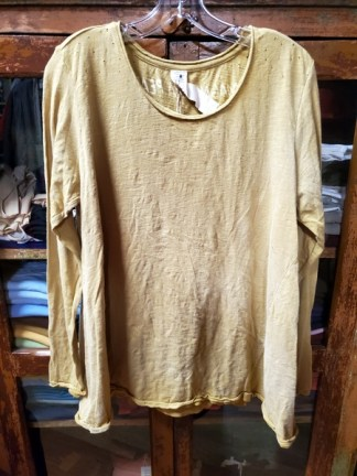 Magnolia Pearl Cotton Jersey Marigold Dylan T Top 365