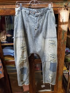 Magnolia Pearl Denim French Army Pants 171 in Railroad