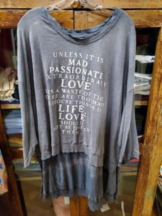 Magnolia Pearl Cotton Jersey Hi Lo Mad Love Pullover Top 750 - Ozzy