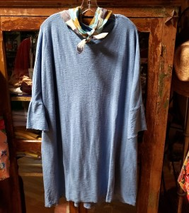 cut loose One Size Tunic Dress in Bay Blue 5771466