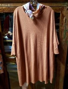 cut loose One Size Tunic Dress in Tandoori 5771466
