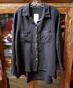 cut loose Black Hi-Low Shirt 4207452