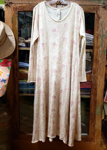 Magnolia Pearl Golden Poppy Hand Block Print Dylan T Dress 555
