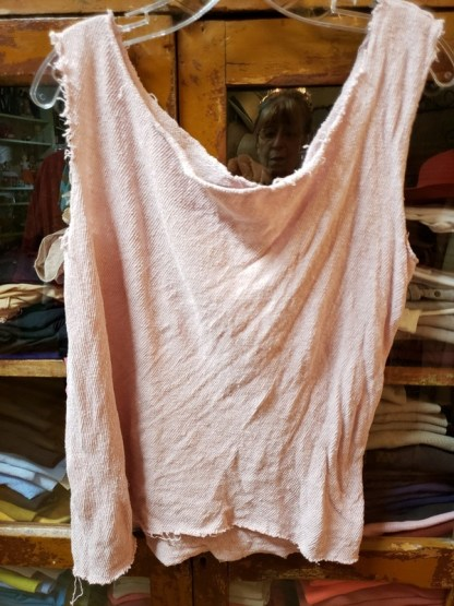 Magnolia Pearl Cotton Jersey Solano Sweater Tank 238 in Molly