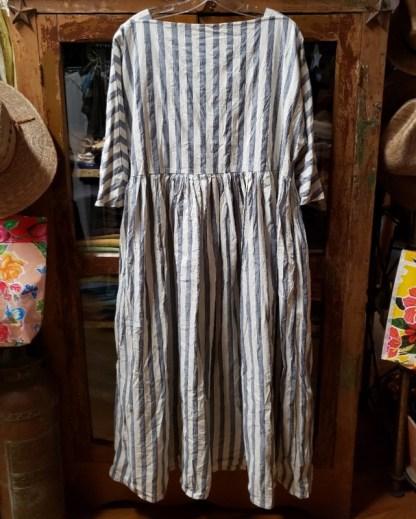 Metta Melbourne Boating Dress Cotton Stripe 3439