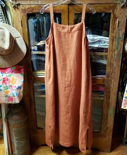 Metta Melbourne Goldie Straight Dress in Ginger