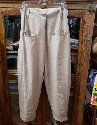 Ewa i Walla Grey Tan Pants 11339