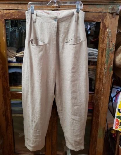 Ewa i Walla Grey Tan Pants 11339