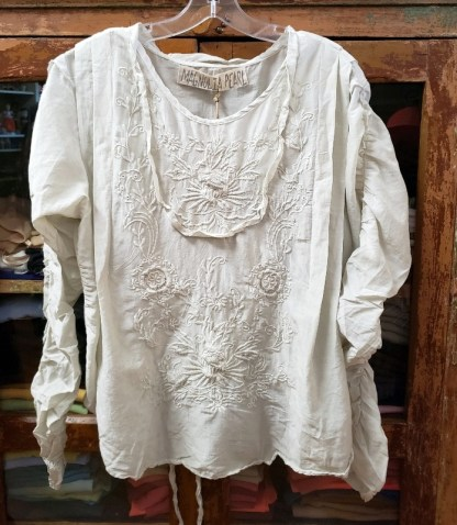 Magnolia Pearl Into the Groove Blouse Top 819 in Moonlight