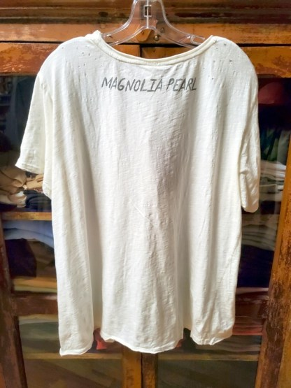 Magnolia Pearl Cotton Boyfriend T 383 in True