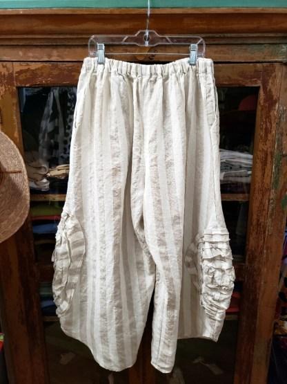 Krista Larson Oat Wide Cabbabe Rose Pants 0316