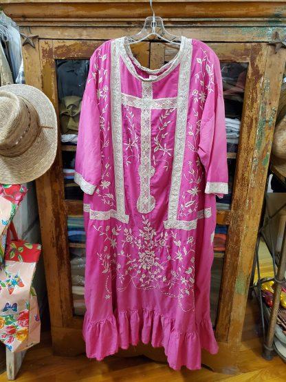 Magnolia Pearl Embroidered Roses Dress 630 - Roza