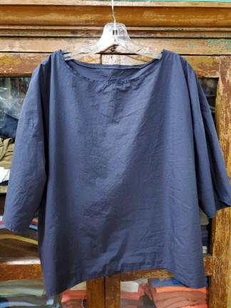 Manuelle Guibal THEME WORK TEE OVERSIZE 5415 Midnight