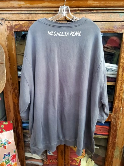 Magnolia Pearl Hi Lo Oversized Paradise Francis Pullover Top 766 in Ozzy
