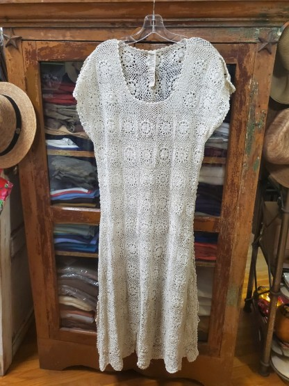 Magnolia Pearl Hand Crochet Robina Lace Dress 668 Moonlight