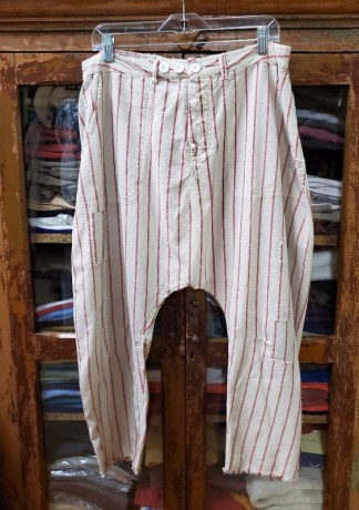 Magnolia Pearl Red/White Stripe French Army Pants 169 Encore