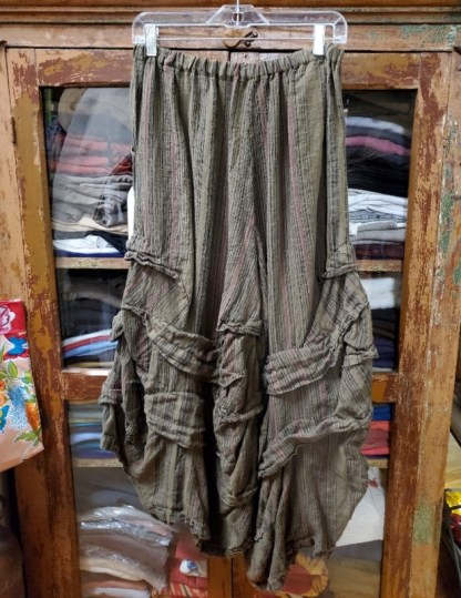 Krista Larson Stormy Pants in Umber/Berry