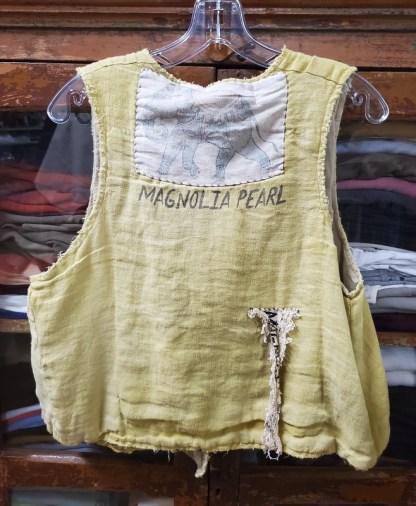 Magnolia Pearl Lennon Vest 035 in Marigold
