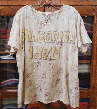 Magnolia Pearl Cotton Jersey California 1970 T Top 905 - Solar