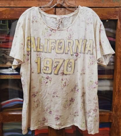 Magnolia Pearl Cotton Jersey California 1970 T Top 905 - Solar