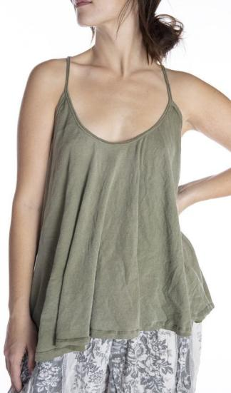 Magnolia Pearl Cotton Jersey Indy Tank Top 254 -- Peace