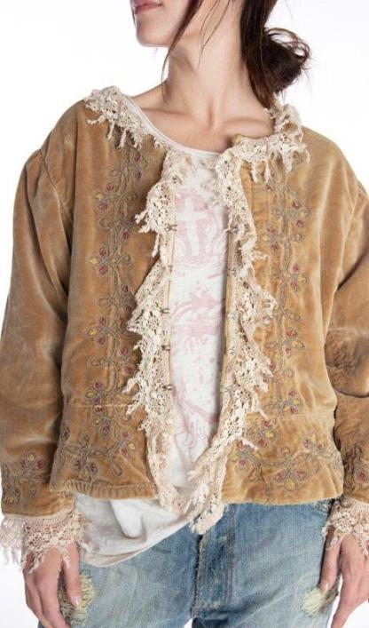 Magnolia Pearl Cotton Velvet James Jacket 458 -- Crown