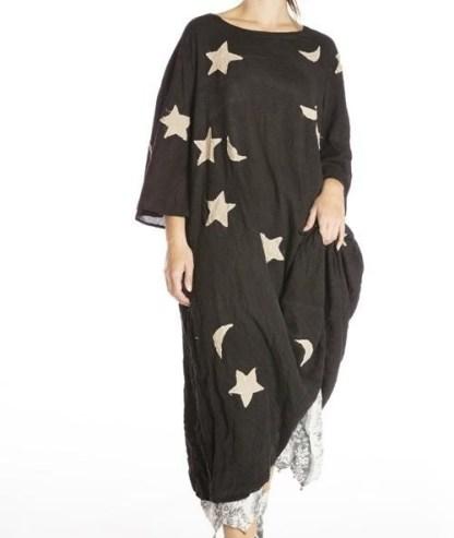 Magnolia Pearl Star and Moon Merlina Dress 701 -- Midnight