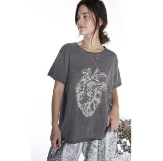 Magnolia Pearl Cotton Jersey Full Heart T Top 922 - Ozzy