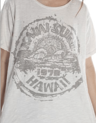 Magnolia Pearl Cotton Jersey Kauai Surf T 918 - Moonlight