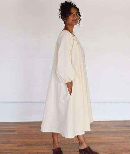 """Label by Three """"Limited-Edition"""" Milkweed Cotton Dress 4335"""