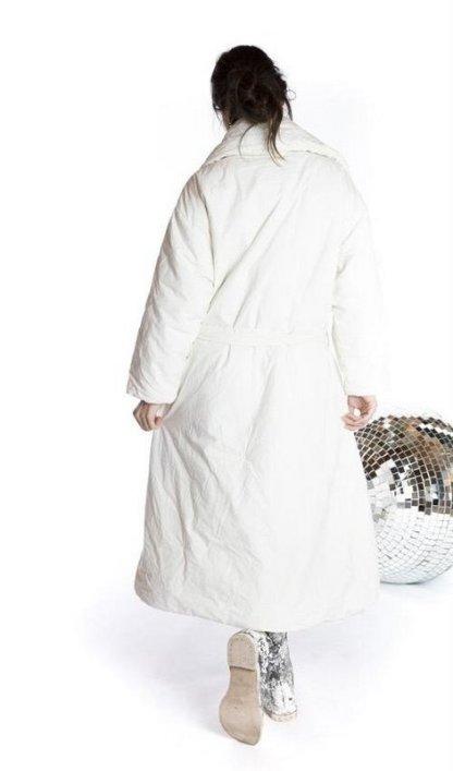Magnolia Pearl Cotton Poplin Telluride Duvet Coat Jacket 460 -- True