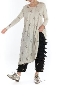 Magnolia Pearl Crescent Moon and Stars Dylan T Dress 705 Moonlight