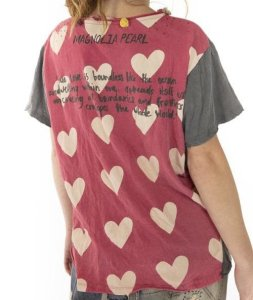 Magnolia Pearl Gandhi Love T Top 961 -- Love Offering