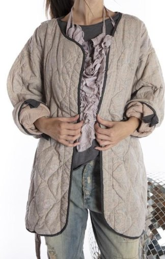 Magnolia Pearl Cotton Quilted Aleda Coat Jacket 469 Sebastopol