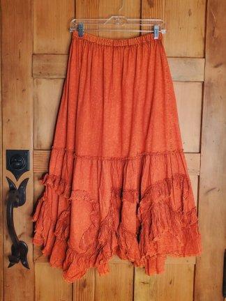 Krista Larson Petticoat Skirt 5521 Mandarin