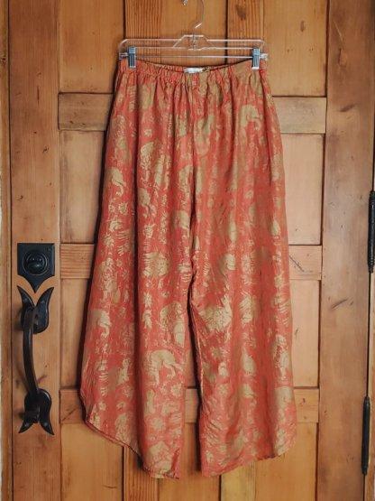 Krista Larson Basic Pants 2509 Graphic Silk/Cotton