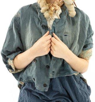 Magnolia Pearl Jimmy Tuxedo Jacket 495 Faded Boro