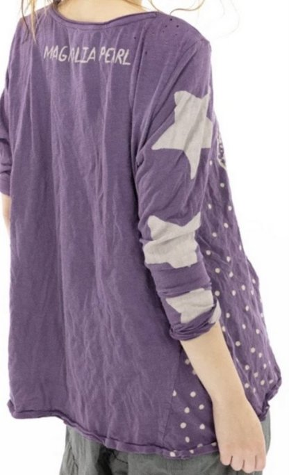 Magnolia Pearl Cotton Jersey Ebb and Tide Dylan T Top 982 Rain