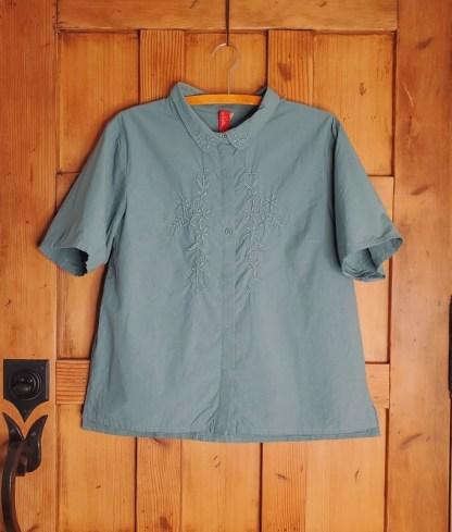 Ewa i Walla Short Sleeve Top 44795 Jade