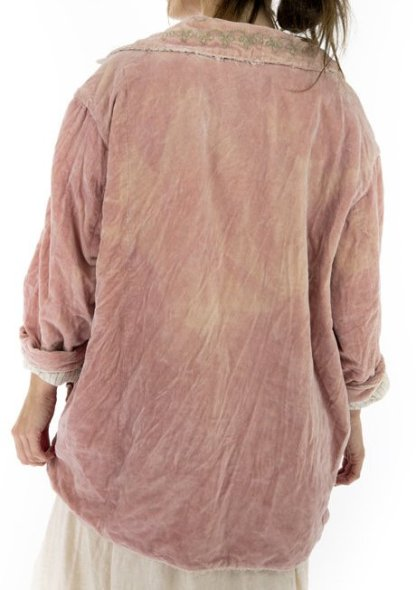 Magnolia Pearl Cotton Velvet Rosalie Jacket 485 Solrose