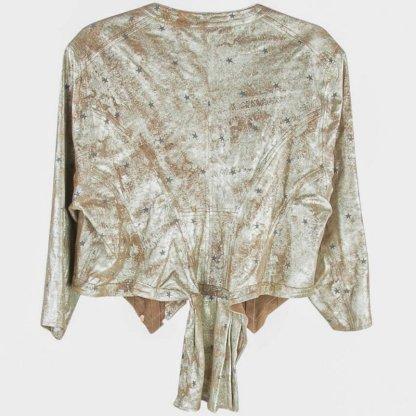 Magnolia Pearl All Leather Metallic Inna Jacket 486 Little Dipper