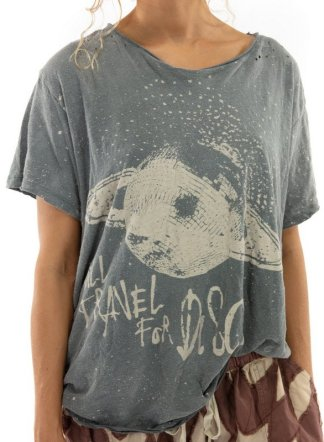 Magnolia Pearl Cotton Jersey Travel for Disco T Top 1052 Ozzy