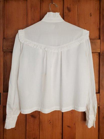 Raquel Allegra Luna Shirt Y214-8506 Washed White