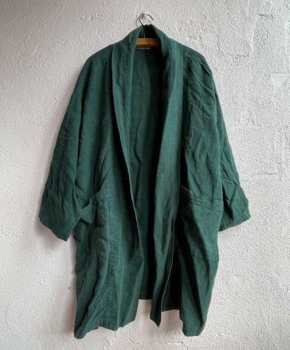 Metta Melbourne Kiko Haori Kimono 7856 in Sycamore Green