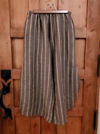 Krista Larson Striped Basic Pants 5844 Fawn/Smoke