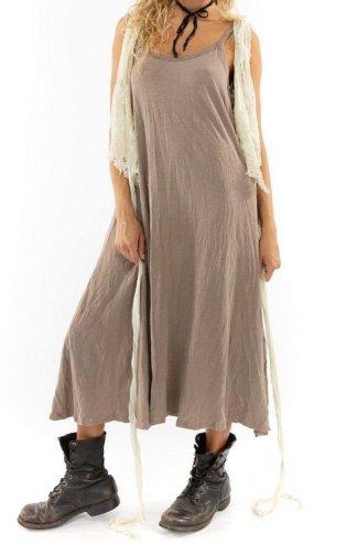 Magnolia Pearl Cotton Jersey Lana Tank Dress 450 Clay